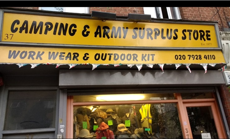 waterloo army surplus and camping